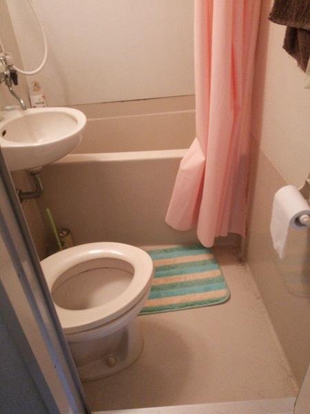 アパートの風呂