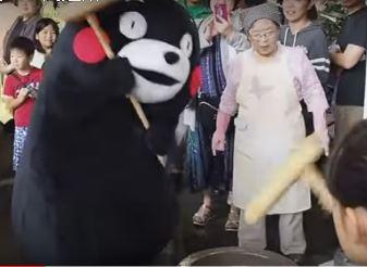 How Japanese make mochi by Mochitsuki