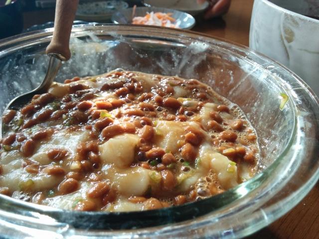 natto-mochi