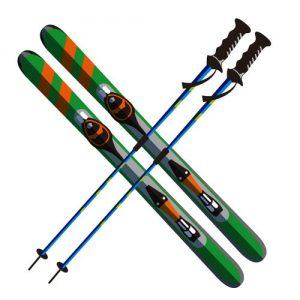 スキー用具レンタル係